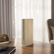 Layer creates slim Beosound Emerge bookshelf speaker for Bang & Olufsen