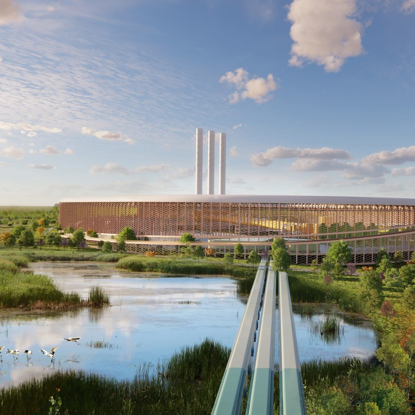 Rare earth metals processing plant designed by BIG for The Metals Company