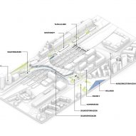 Plans for Vasteras Travel Center by BIG