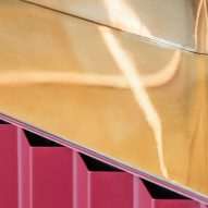 Brass countertop