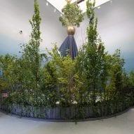 A garden-like installation at Venice Architecture Biennale