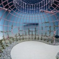 A playground-like installation at the Venice Architecture Biennale