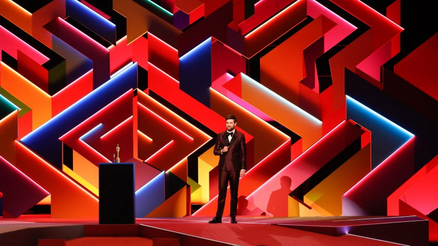 Es Devlin's set design for Brit Awards 2021