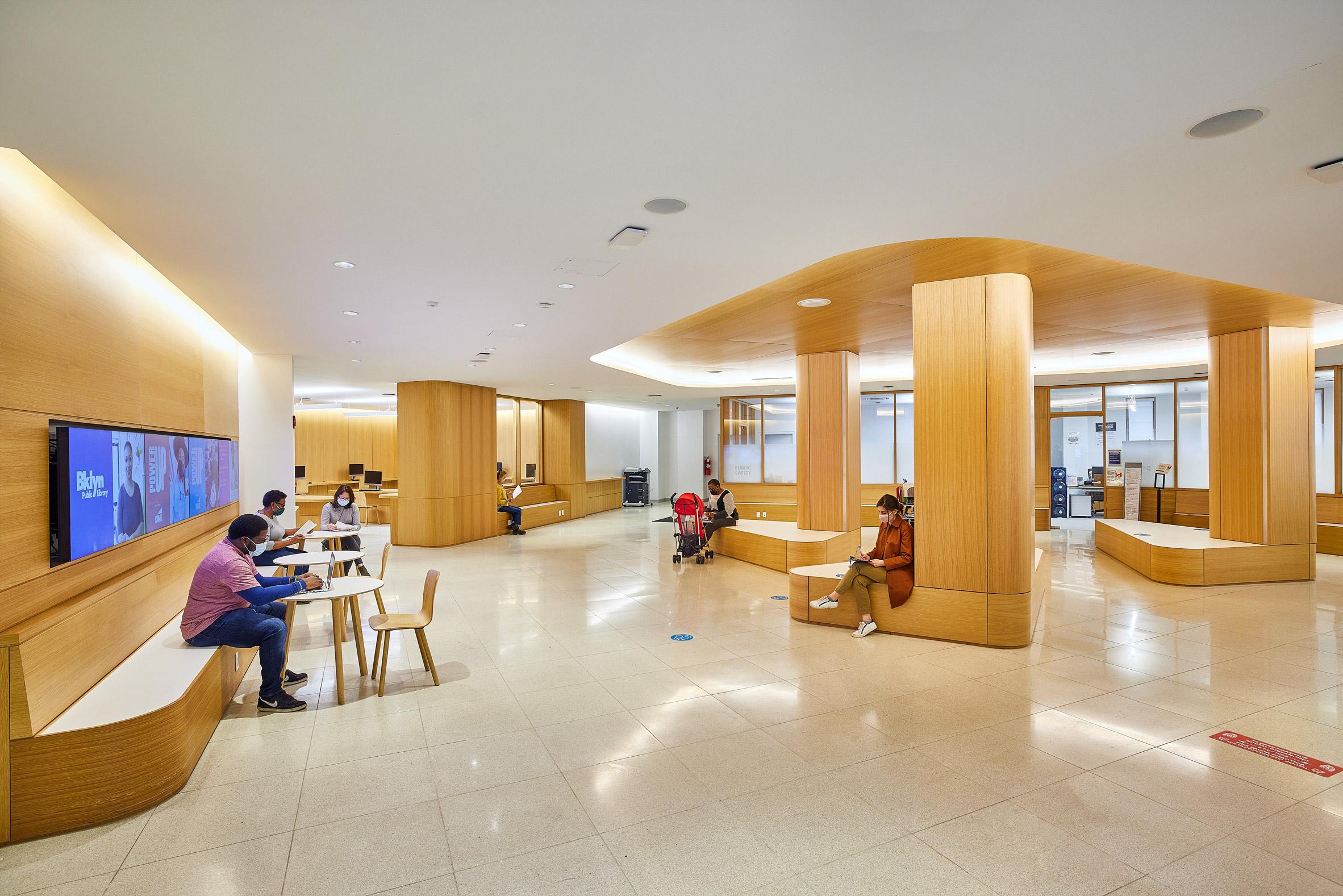 Toshiko Mori designed the project