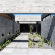Entrance to Casa SAB by PSV Arquitectura