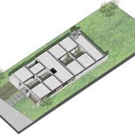 Plan for Casa SAB by PSV Arquitectura
