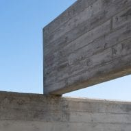 Intersecting concrete slabs