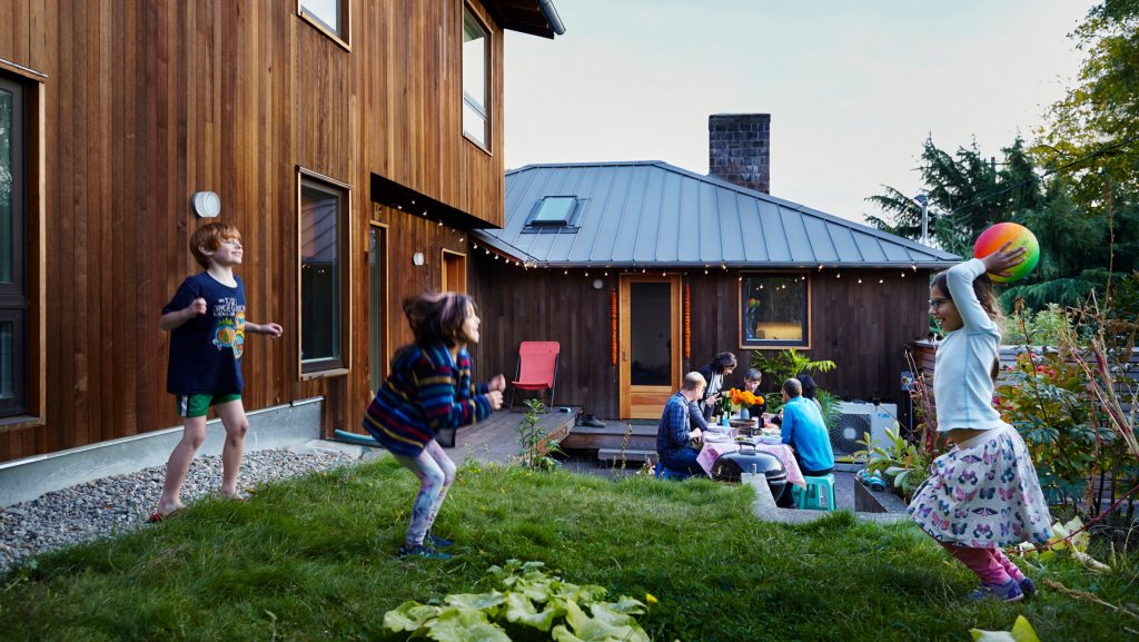 Husband-and-wife team expand their family bungalow in Seattle