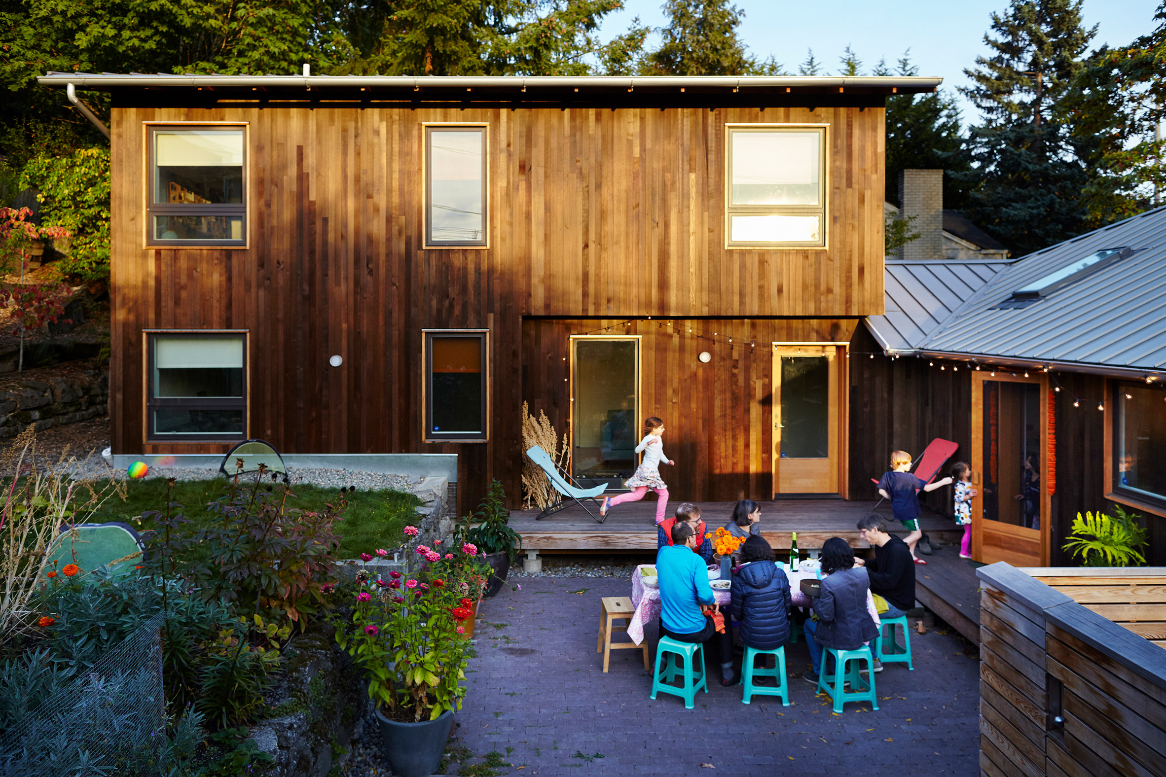 Local firm Fivedot designed the bungalow