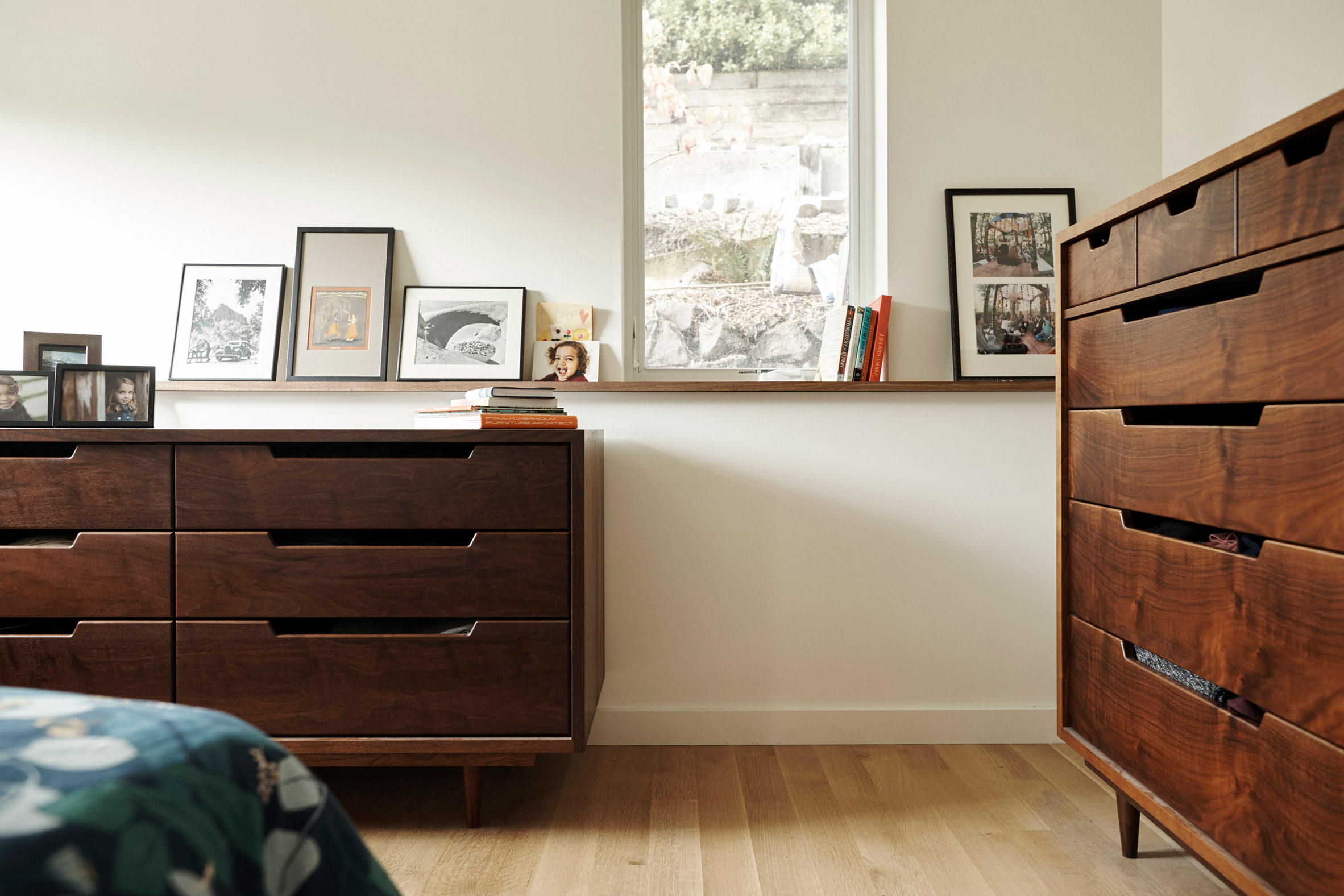 Fivedot and Chris Armes designed the cabinetry