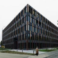 German Aerospace Centre's jet black facades crafted by Rieder