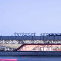 Exterior of Zvonarka bus terminal by Chybik + Kristof