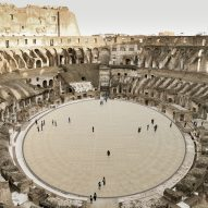Plans revealed for Colosseum amphitheatre's retractable floor