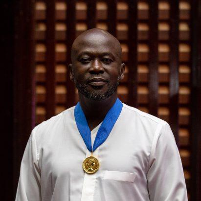 David Adjaye at RIBA award