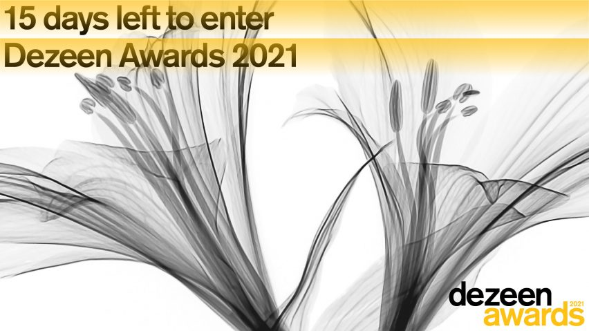 Dezeen Awards 2021 15 days left to enter