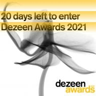 Twenty days left to enter Dezeen Awards 2021