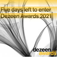 Five days left to enter Dezeen Awards 2021