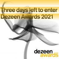 Only three days left to enter Dezeen Awards 2021