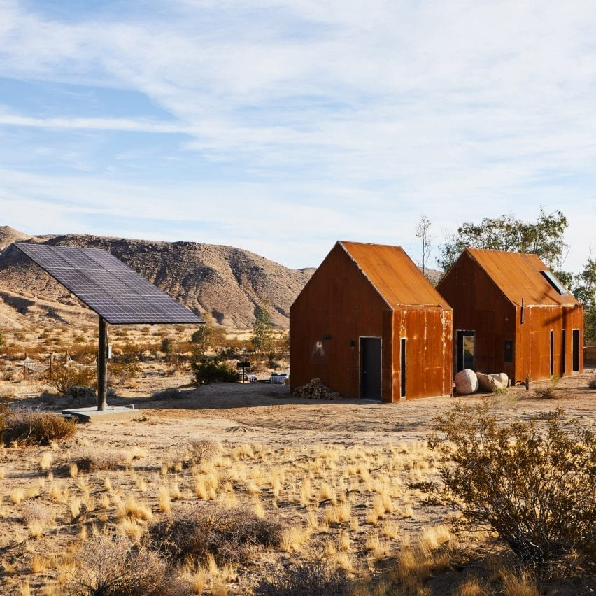 Folly is a pair of dwellings in California in the US