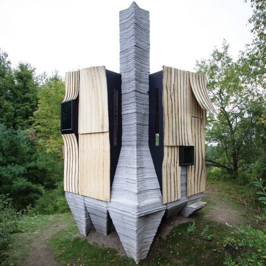 Hannah designed this small dwelling in the US