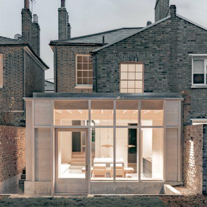 Concrete Plinth House has a brutalist look