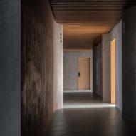Interiors have a dark look