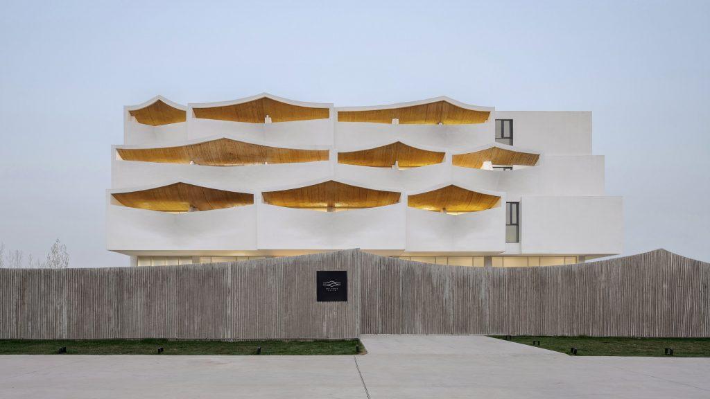 Sky Yards Hotel by Domain Architects has deep balconies | Tech News
