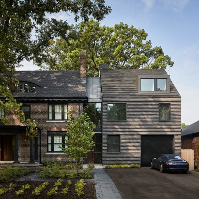 House on Bracondale Hill is by Drew Mandel Architects
