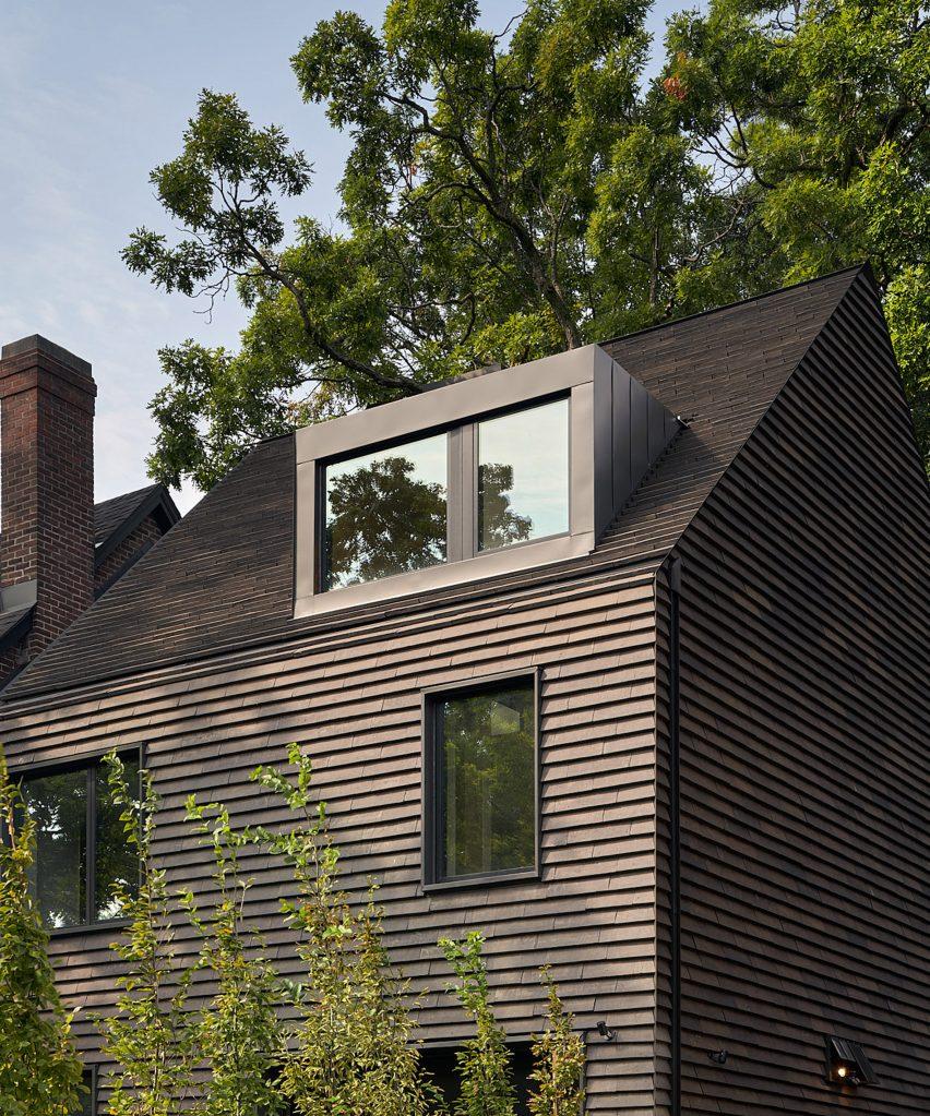 Drew Mandel Architects designed the house in Toronto