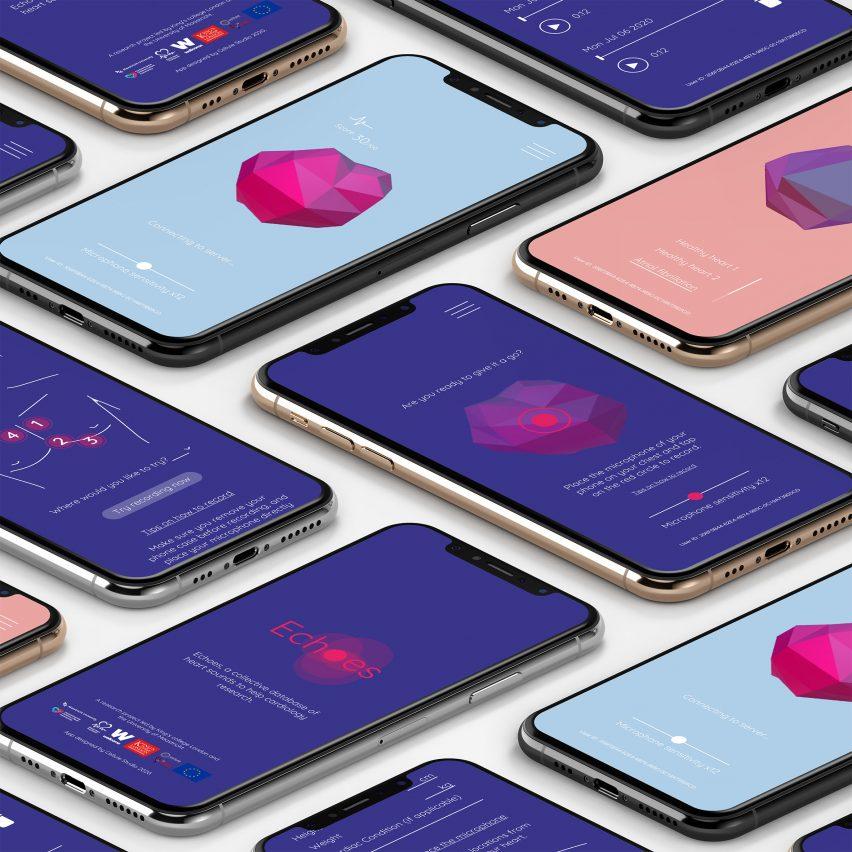 Echoes app by Cellule