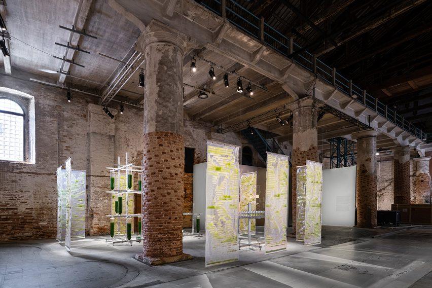 Arsenale venue at the Venice Architecture Biennale