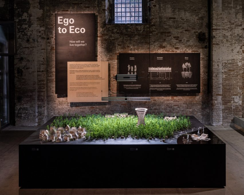 Eco to Ego is an exhibitio by EFFEKT