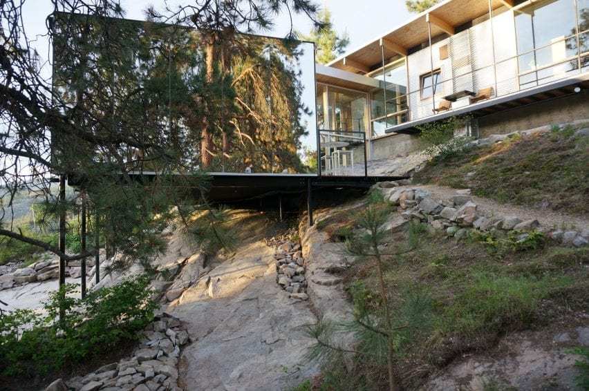 F2A Architecture built the extension into the bedrock