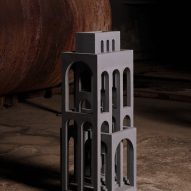 Miniature building by David Umemoto