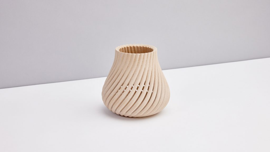 Yves Béhar 3D prints Forust homeware from reclaimed wood waste