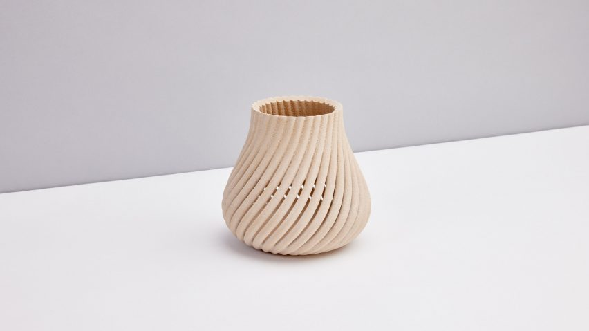Vessel from Vine collection by Yves Behar and Forust