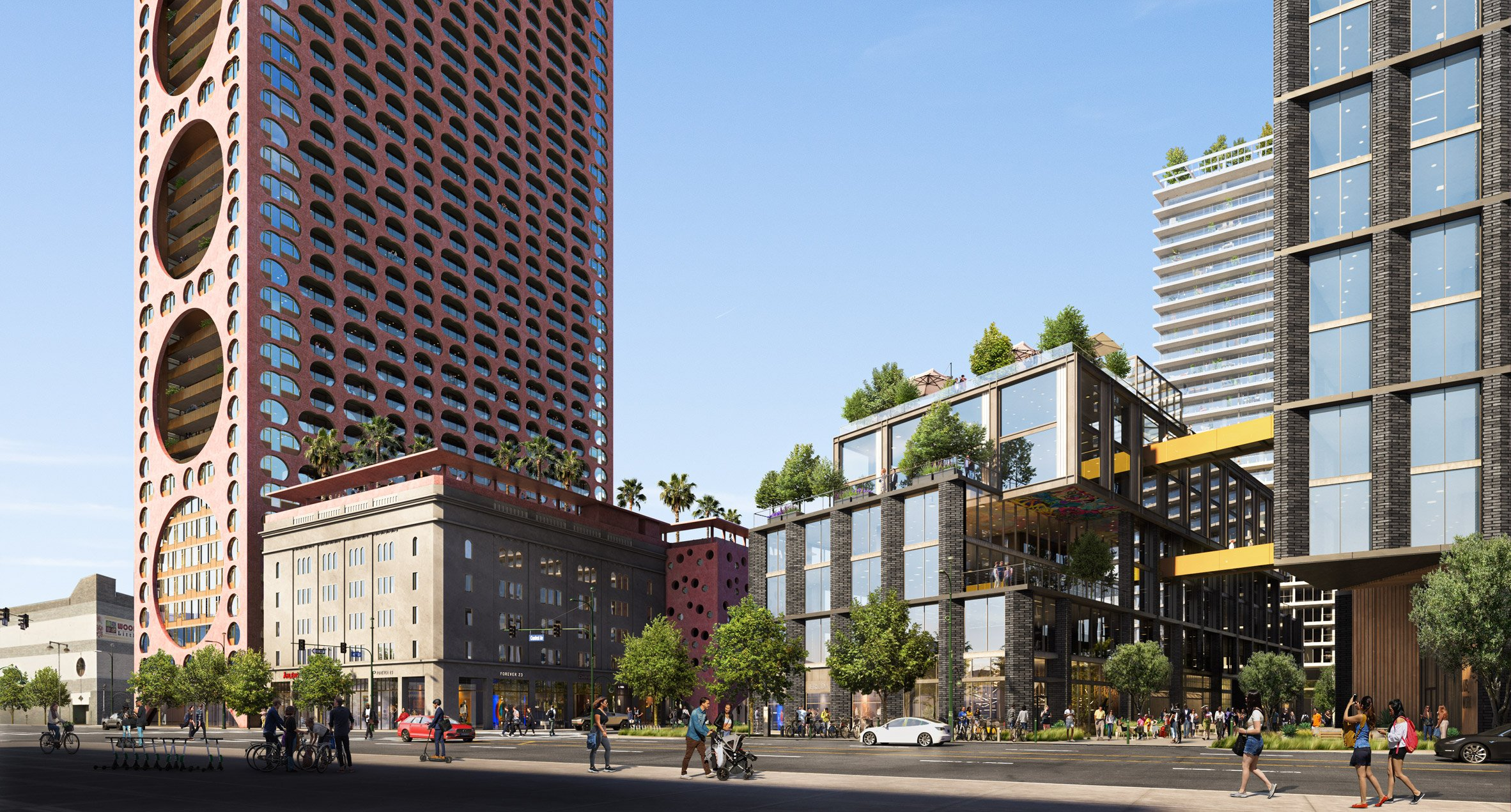 Fourth and Central mixed-use development for LA