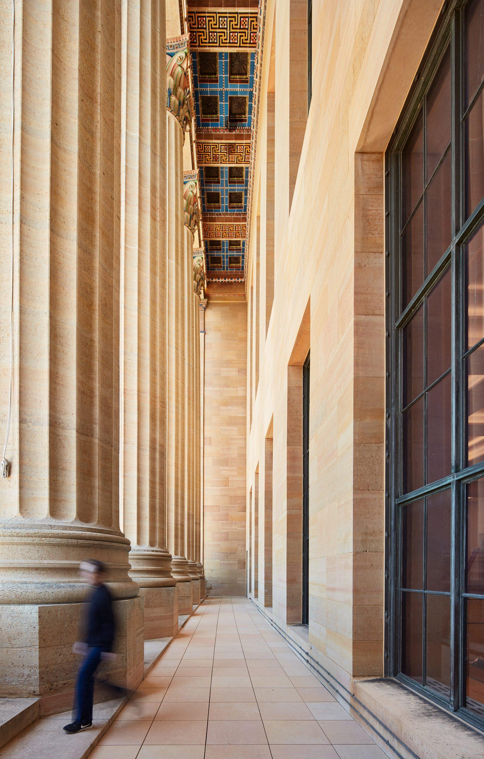 Vaulted Walkway of the Philadelphia Museum of Art