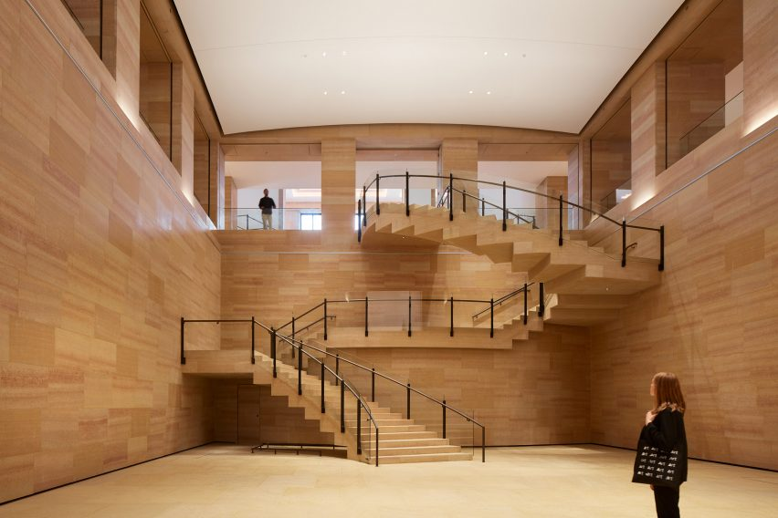 Stairs in the Williams Forum