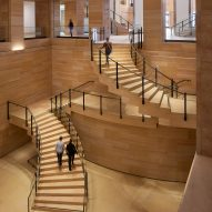 Frank Gehry unveils renovation and extension of the Philadelphia Museum of Art