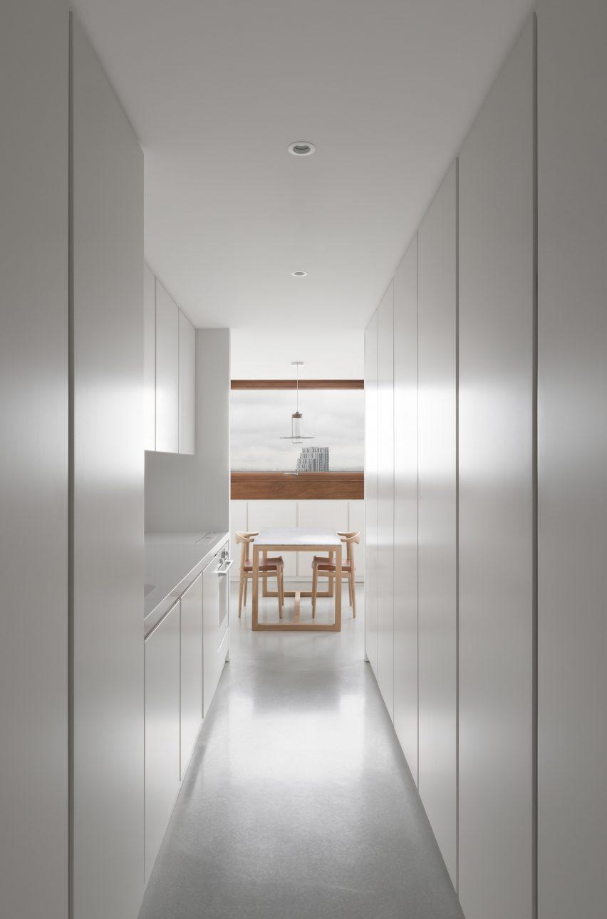 Barbican apartment by John Pawson