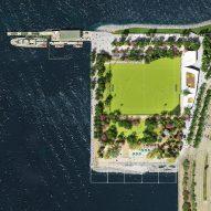 Gansevoort Peninsula by James Corner Field Operations will feature Manhattan's first beach