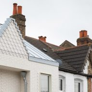 The roofline of the Ghost Houses by Fraher & Findlay