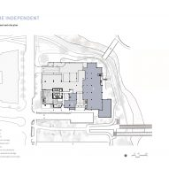 Ground floor and site plan