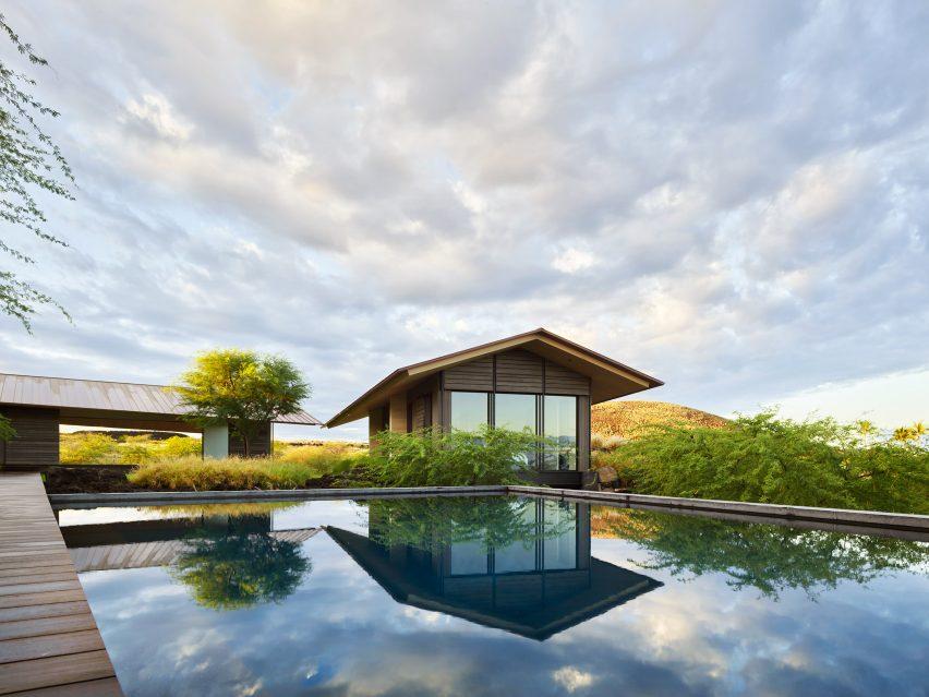 Hale Mau-u's swimming pool