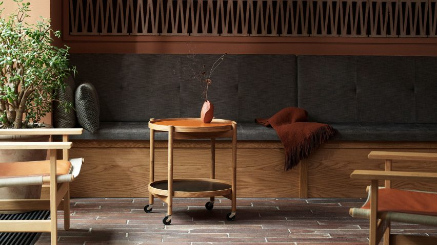 Danish tray table design