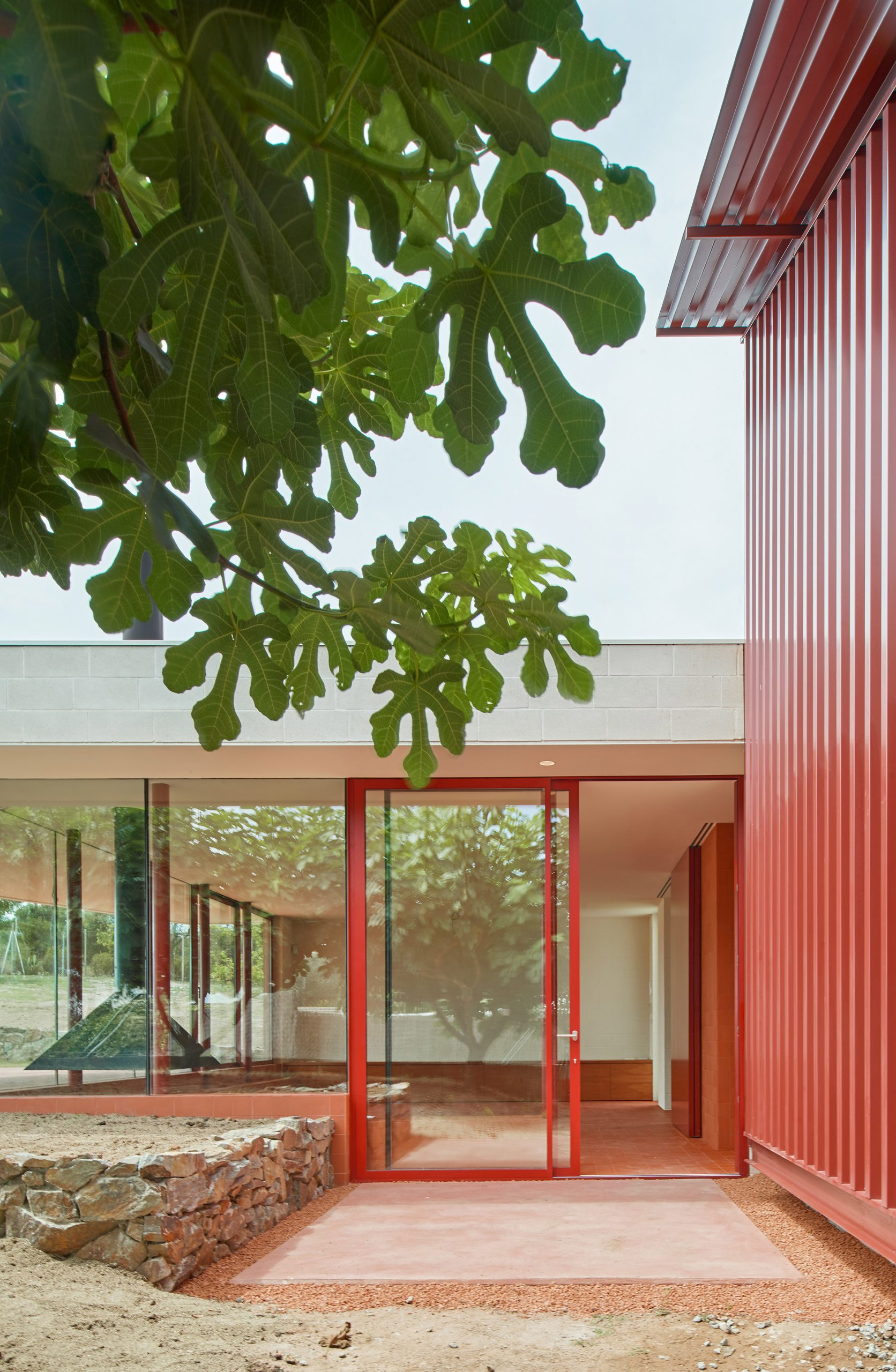 Red House in Sant Antoni de Vilamajor by Arquitectura-G