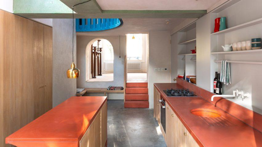 View of the kitchen by Studio Ben Allen