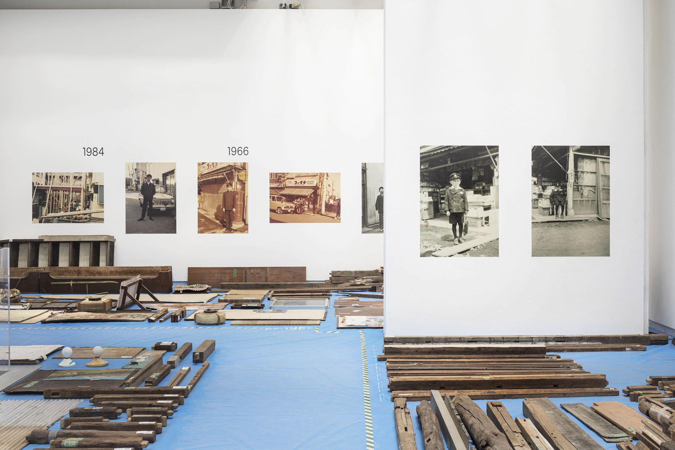 Inside of Japan Pavilion at the Venice Architecture Biennale