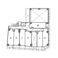 First floor plan of the building